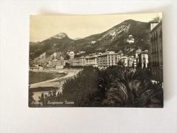 SALERNO LUNGOMARE TRIESTE VIAGGIATA DEL 1950 - Salerno