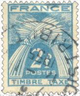 France Taxe 1946. ~ T 82 - 2 F. Gerbes - Taxes