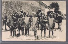 MACON . Cavalcade Du 30 Mai 1909 . Les Indiens . - Macon
