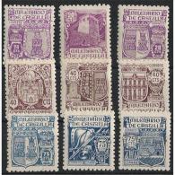 ES974-L37552TARO.España, Spain,Espagne MILENARIO DE CASTILLA.1944 ( Ed.974/82**)sin Charnela LUJO - Otros