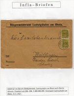 Inflabrief 5,000,000,000 RM !!! 9.11.1923 (i25) - Cartas