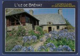 22 ILE DE BREHAT L'Ile Des Fleurs Et Des Rochers Roses, Maison Fleurie ; Agapanthes, Hortensias - Ile De Bréhat