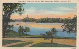 Minnesota Rochester Overlooking Silver Lake With The Mayo Clinic
