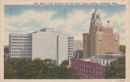 Minnesota Rochester New Mayo Clinic Building And Old Mayo Clinic