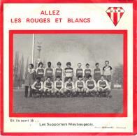 45T REGIONAL LES SUPPORTERS MAUBEUGEOIS DEP 59 - Vinyl Records