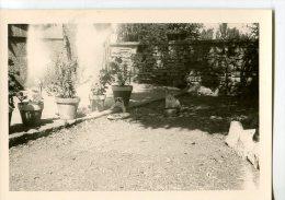 LEREY  -  SEPTEMBRE 62  -  AVEYRON  -  PHOTO DES ANNÉES DÉBUT 60 PAS CARTE POSTALE FORMAT 9 X 13 - Places