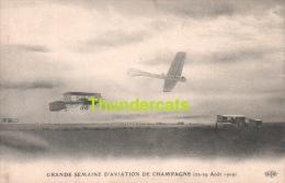 CPA GRANDE SEMAINE D'AVIATION DE CHAMPAGNE 22 - 29 AOUT 1909 - Meetings
