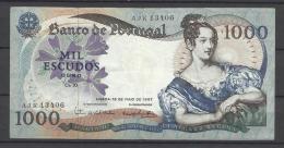 PORTUGAL . 1000 ESCUDOS 1967  . - Portugal