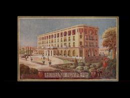 13 - AIX-EN-PROVENCE - Hôtel Du ROY RENE  - Carte Publicitaire - Aix En Provence