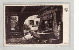 RIQUEWIHR (68) / ILLUSTRATEUR / HANSI / Un Pressoire - Hansi