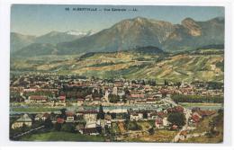 ALBERTVILLE - Vue Générale Sur La Ville-RECTO / VERSO --E19 - Albertville