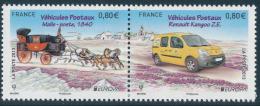 "FRANCE/Frankreich EUROPA 2013 ""Postal Vehicles"" Set Of 2v** - 2013"