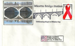 USA. Minetto Bridge, New-York  . Enveloppe Souvenir - Ponti