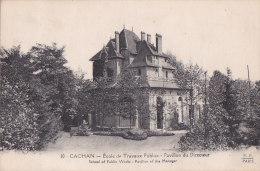 Ag - Cpa CACHAN - Ecole De Travaux Publics - Pavillon Du Directeur - Cachan