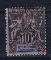 Nouvelle Caledonie: Yv 72 MH/* - Nieuw-Caledonië