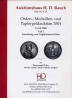 Auktionshaus H.D.Rauch - Vienna - Catalogo D´Asta  Orden - Medaillen - Und Papiergeldaukition - Teil I - Sammlung V On N - Livres & Logiciels