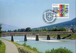 Liechtenstein Maximumkarte MK 134 Mit Nr. 1115 Aus 1995 + Prix Dégressif. - Emissions Communes