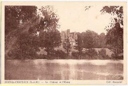 CPA Evry Les Chateaux Le Chateau Et L´ Etang 77 Seine Et Marne - Unclassified
