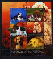 DJIBOUTI - KB V. 2012, Hunde (tie1413) - Dogs