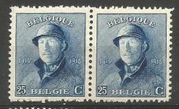 171 Paire  **  7 - 1919-1920 Behelmter König