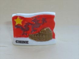 FEVE DRAPEAU, CHINE  02 - Pays