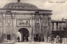 [DC8182] TREVISO - PORTA MAZZINI - Viaggiata - Old Postcard - Treviso
