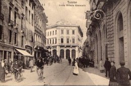 [DC8184] TREVISO - CORSO VITTORIO EMANUELE - Viaggiata - Old Postcard - Treviso