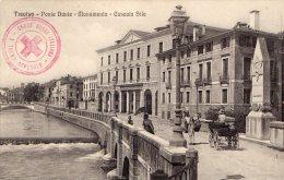 [DC8185] TREVISO - PONTE DANTE - MONUMENTO - CASCATA SILE - Old Postcard - Treviso