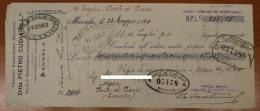 DITTA PIETRO CUDIA FU L.ZO CAMBIALE/PROMISSORY DA 255,05 LIRE MARSALA 1934 #F239 - Azioni & Titoli