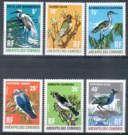 #3 - ARCHIPEL Des COMORES - N° 63 à 68 - Neufs Sans Charnière - Luxe - Oiseaux - Unused Stamps
