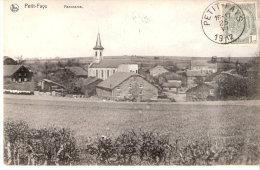 Petit-Fays (Bièvre)-1912-Panorama- L´église Et Une Vue Sur Le Village-Belle Oblitération-top Quality-Edit. Nels - Bièvre