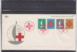 Croix Rouge - Indonesie - Lettre De 1963 - Indonesië