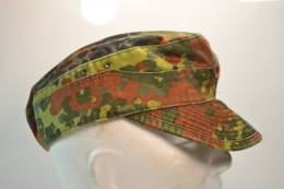 Casquette Taille 58 Camouflage FLECKTARN  Idéal Chasse, Airsoft / Paintball. Allemand - Equipement