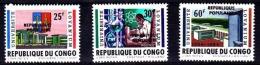 Belgian Congo - Katanga - Private Overprint - Stanleyville - 20/22 - MNH - Katanga
