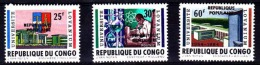 Belgian Congo - Katanga - Local Overprint - Stanleyville - 20/22 - MNH - Katanga
