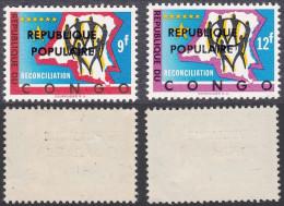 Belgian Congo - Katanga - Local Overprint - Stanleyville - 16/17 - MNH - Katanga
