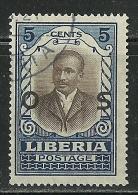 LIBERIA 1900 Revenue Tax Stamp Dienstmarke 5 C. O - Liberia
