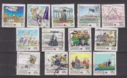 PGL BM0806 - AUSTRALIE AUSTRALIA Yv N°1064/76 - 1980-89 Elizabeth II