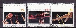 PGL BM0831 - AUSTRALIE AUSTRALIA Yv N°1094/96 - 1980-89 Elizabeth II