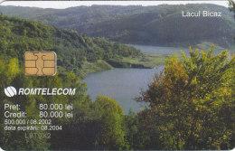 Romania, ROM-159, Bicaz Lake 1, 2 Scans. - Roemenië