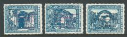 3 Airmail Overprints - Guatemala
