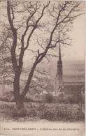 CPA L'Eglise Vue De La Citadelle - Montbéliard