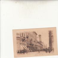 MILANO - VIA MERCANTI CON VISTA DEL DUOMO VG 1926 AUTENTICA 100% - Italia