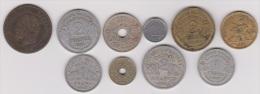 FRANCE //  LOT DE MONNAIES //  BONNE COTE - Collections