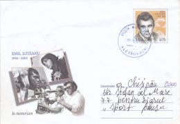 MOVIE DIRECTOR,EMIL LOTEANU,COVER STATIONERY,2004,MOLDOVA - Cinema