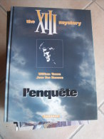 XIII MYSTERY L'ENQUETE   VAN HAMME VANCE - XIII