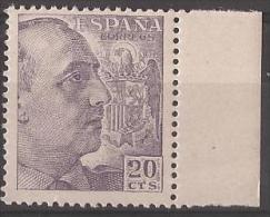 ES1047-LA877.España.S Pain Espagne CID Y GENERAL FRANCO 1949/53.(Ed 1047**) Sin Charnela LUJO. - 1931-Hoy: 2ª República - ... Juan Carlos I