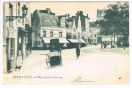 """""""Bruxelles - Place Sainte Catherine"""" - Places, Squares"""