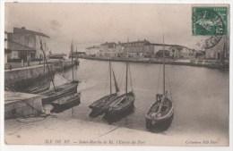 ILE DE RE - Saint-Martin De Ré, L'entrée Du Port - Ile De Ré