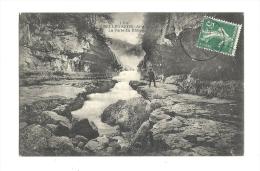 Cp, 01, Bellegarde, La Perte Du Rhône, Voyagée - Bellegarde-sur-Valserine